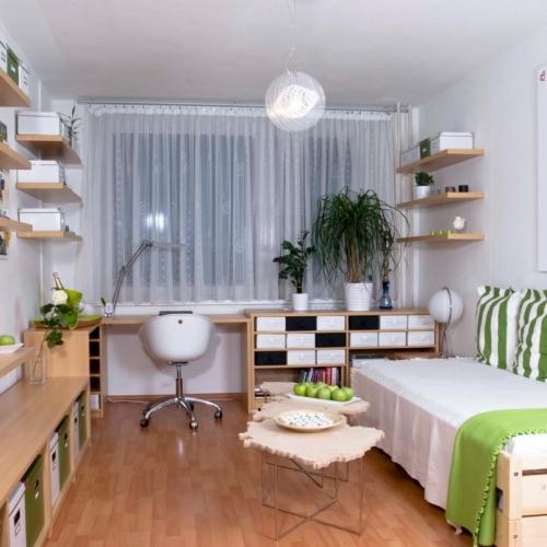 Návrh kuchyně a koupelny rodinného domu na hvozdé