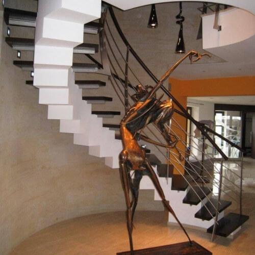 Lomenicová schodiště DNA DESiGN