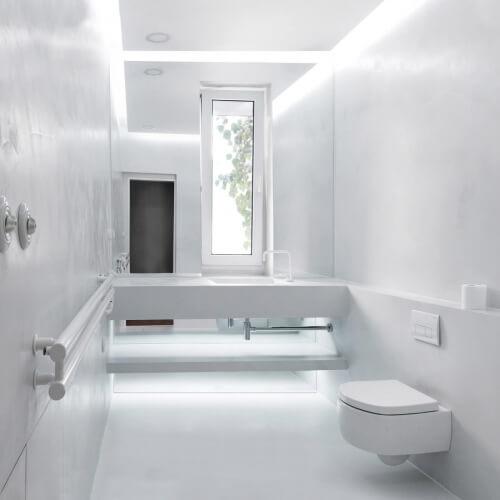 Koupelna pro hosty