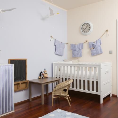 Dětský pokoj pro miminko alá Provence