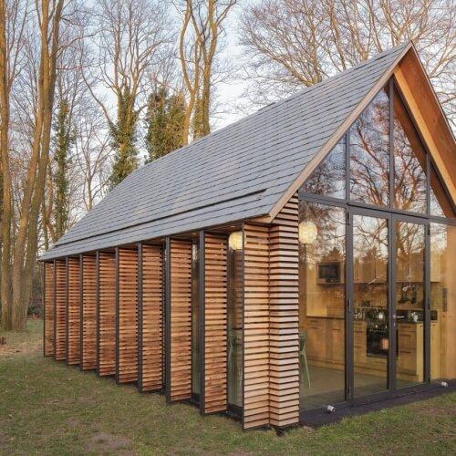 Sympatický rekreační domek na holandském venkově