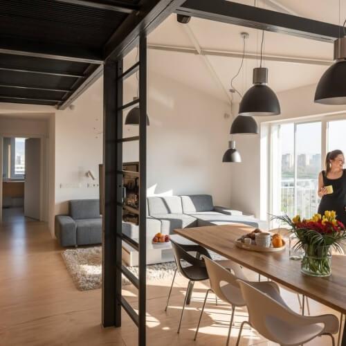 Loftový byt v nadstavbe, Ružinov