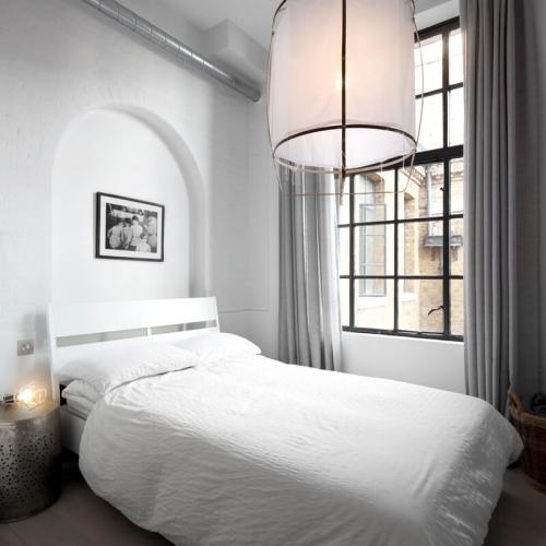 Černobílý Londýnský loft