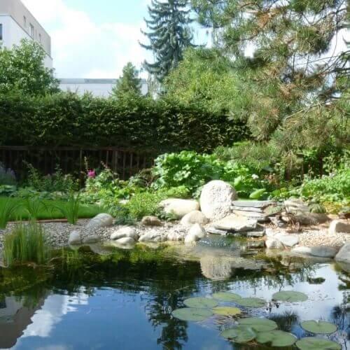 Kruhová záhrada, Praha
