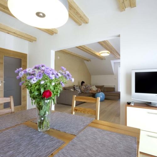 Přestavba a interiér bytu, Kunovice
