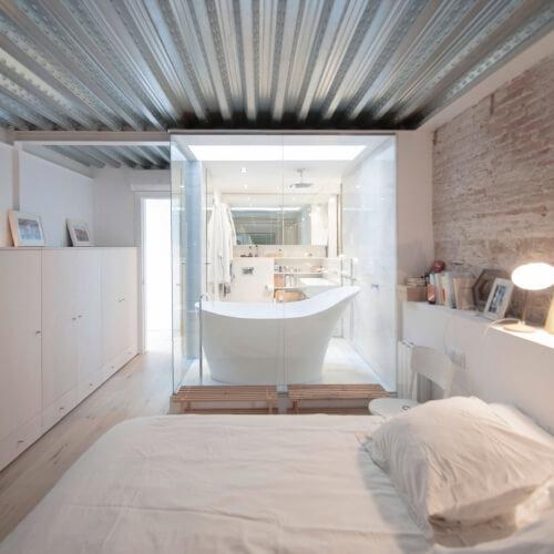 Stará mléčná farma přeměněná v moderní loft