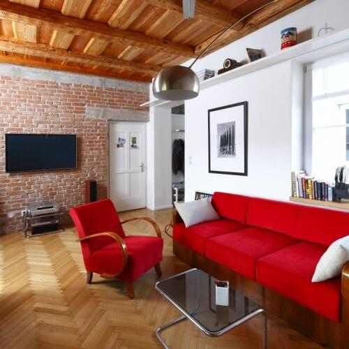 Návrh interiéru bytu v Piešťanoch