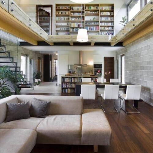 Projekt novostavby rodinného domu v Průhonicích 1