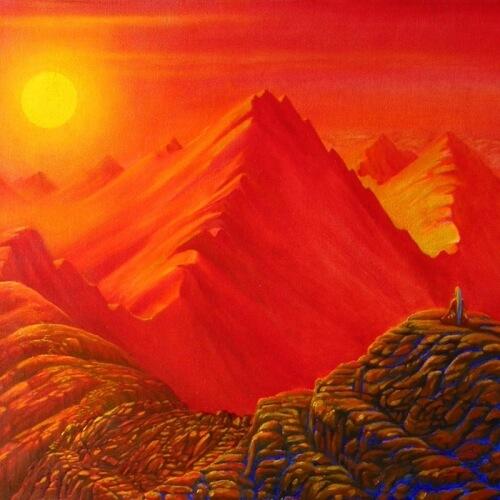 obrazy - Červené hory