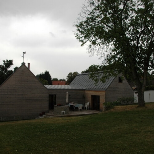 Venkovský rodinný dúm v Líšnici