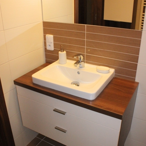 Rekonstukce panelového bytu - Letovice
