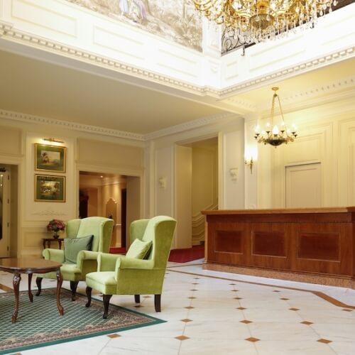 Parkhotel Richmond, Karlovy Vary. Návrh  interiérů 2013–2015