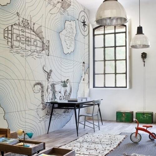 Stěny a tapety