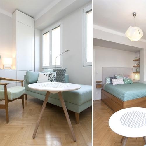 Byt 2+1, Praha 4, Obývací pokoj/Ložnice