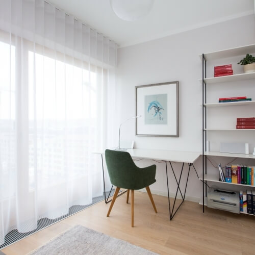 Byt, ve kterém je radost bydlet - Rezidence Vltava