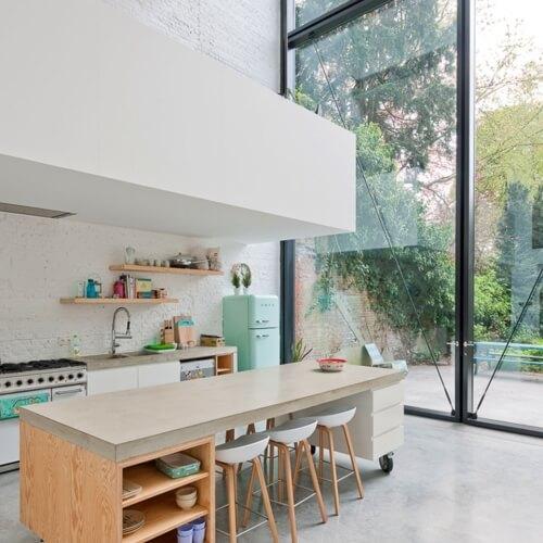 Renovace městského domu v Antverpách