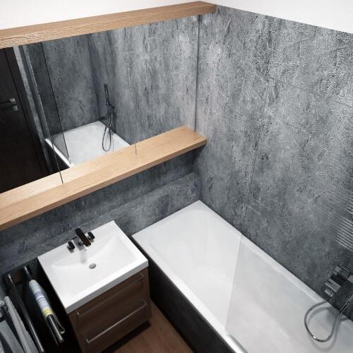 Návrh rekonstrucke interiéru bytu v panelovém domě - Brno