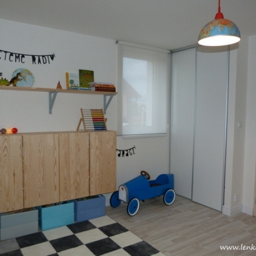 Dětský pokoj pro dva kluky