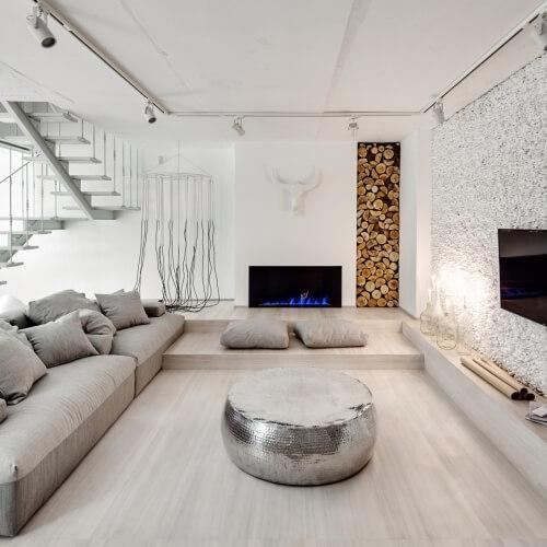 Bílá barva a čirá jednoduchost