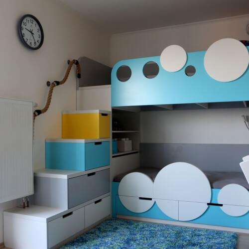 Nápaditý dětské pokoj