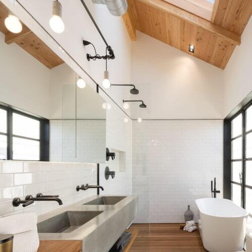 Dřevo v koupelně?!