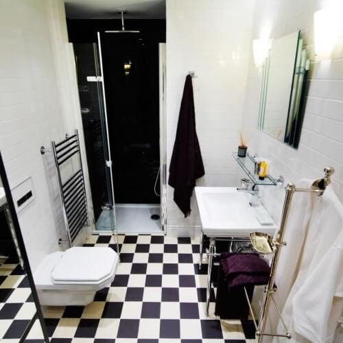 Projekt interiérového designu v pražském bytě.